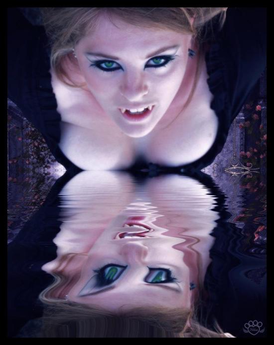 vampira reflejada