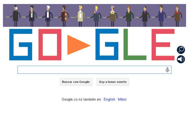 Vuelo de la Esfinge - Doodle Google DrWho