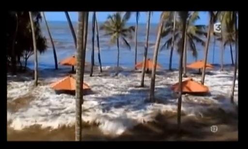 Vuelo de la esfinge - tsunami Asia 204