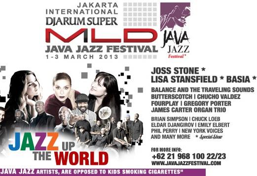 Vuelo de la Esfinge - Java Jazz Festival 2013
