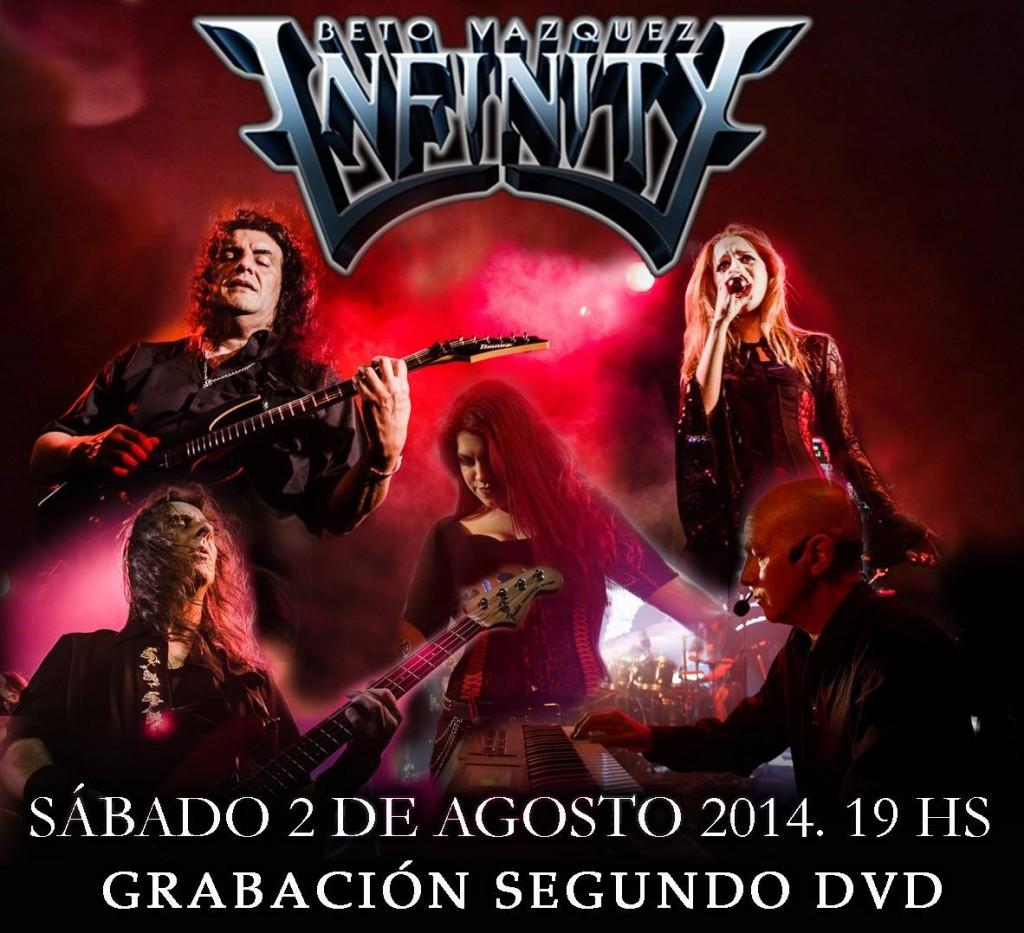 Vuelo de la Esfinge - Beto Vazquez Infinity - 2agosto2014