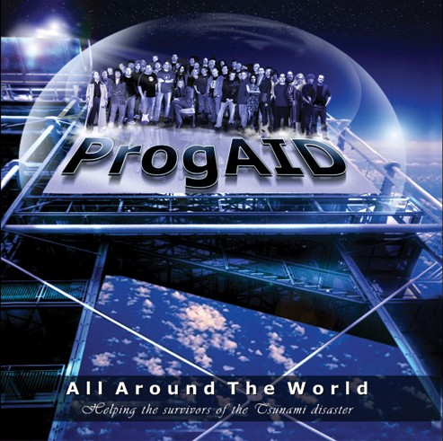 Vuelo de la Esfinge - ProgAID - All Around The World-front