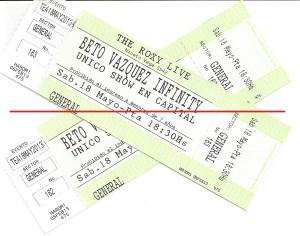 entradas 18 de mayo 2013