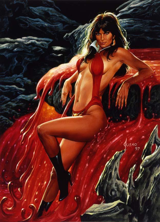 Vuelo de la Esfinge - Vampirella12a