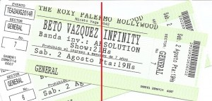 Vuelo de la Esfinge - Recital Beto Vazquez Infinity