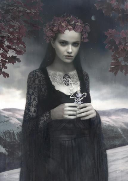Vuelo de la Esfinge - Fantasia Gotica 05