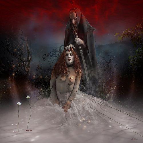 Vuelo de la Esfinge - Fantasia Gotica 07
