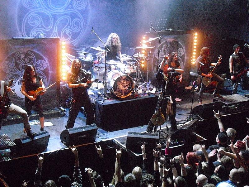 vuelo de la esfinge - Eluveitie-Live